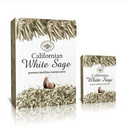 Green Tree Fehér Zsálya Kúpfüstölő » Spirituális Mesterektől