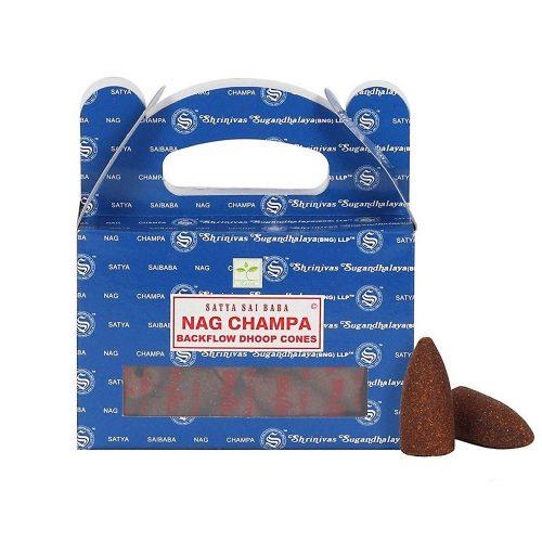 Satya Nag Champa Kúpfüstölő » Spirituális Mesterektől