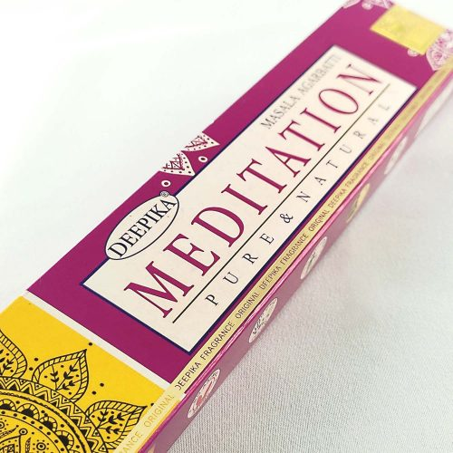 Deepika Meditation Prémium Indiai Füstölő