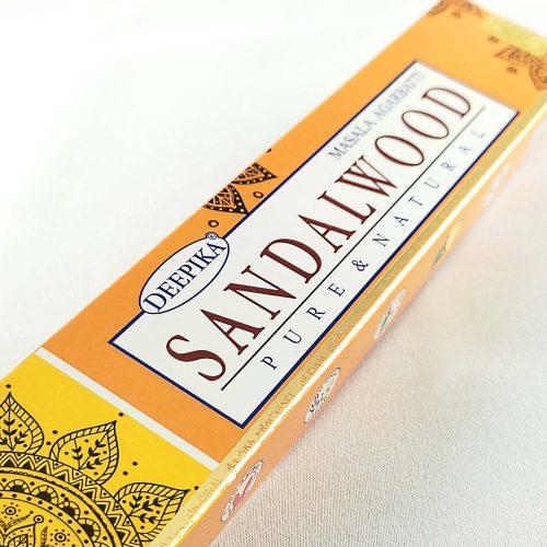 Deepika Szantálfa (Sandalwood) Prémium Indiai Füstölő