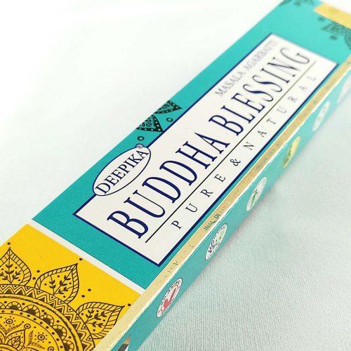 Deepika Buddha Áldása (Buddha Blessing) Prémium Indiai Füstölő