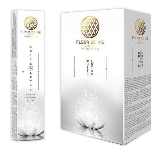 Fleur de Vie White Lotus Füstölő » Spirituális Mesterektől