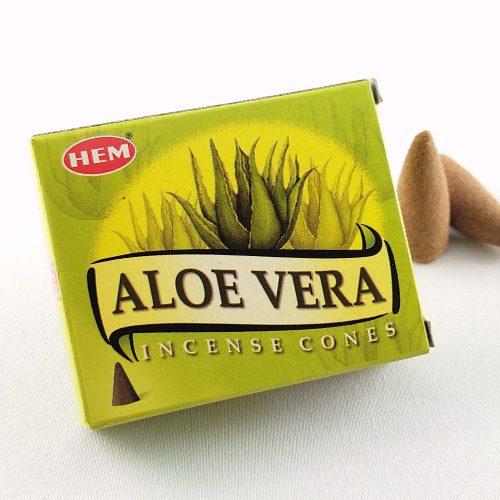 HEM Aloe Vera (Aloe Vera) Indiai Kúpfüstölő (10db)