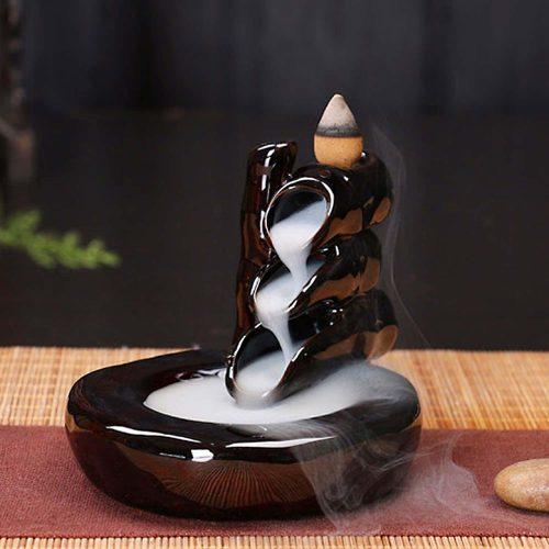 Fekete Bambusz Kúpfüstölő Tartó » Spirituális Mesterektől