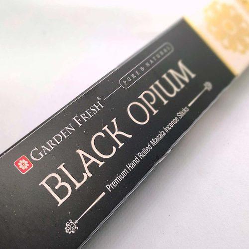Garden Fresh Black Opium Indiai Füstölő (15db)