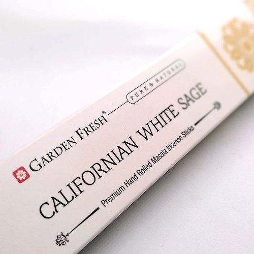 Garden Fresh White Sage (Fehér Zsálya) Indiai Füstölő (15db)