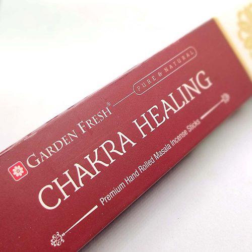 Garden Fresh Chakra Healing Indiai Füstölő (15db)