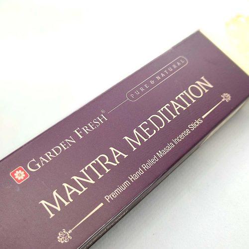 Garden Fresh Mantra Meditation Indiai Füstölő (15db)