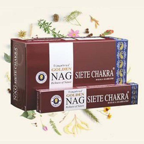 Golden Nag Chakra Füstölő » Spirituális Mesterektől