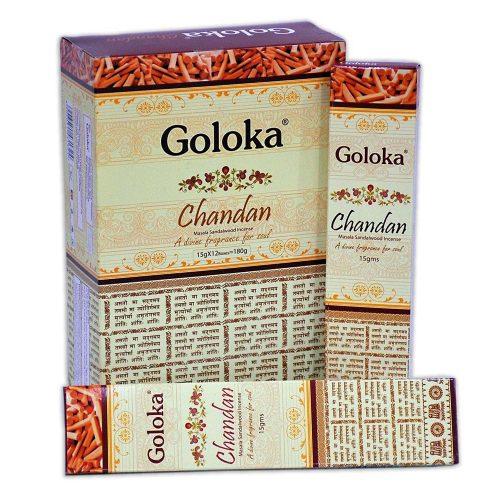 Goloka Chandan Füstölő » Spirituális Mesterektől