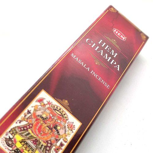 HEM Champa Indiai Füstölő (15db)