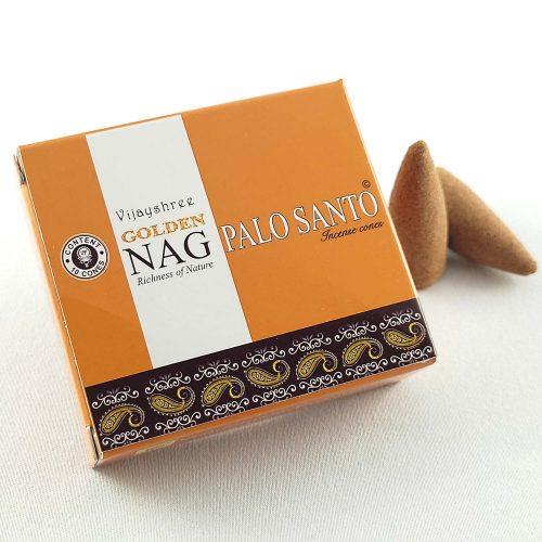 Golden Nag Palo Santo Indiai Kúpfüstölő