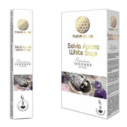 Fleur De Vie White Sage Füstölő » Spirituális Mesterektől