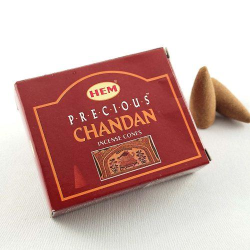 HEM Precious Chandan (Tökéletes Chandan) Indiai Kúpfüstölő