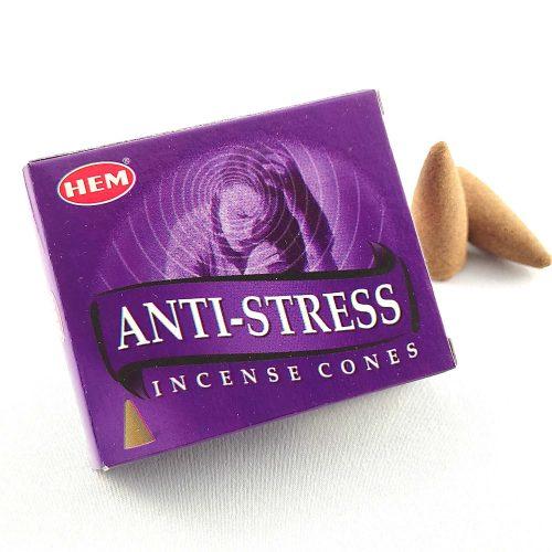 HEM Anti-Stress (Stresszoldó) Indiai Kúpfüstölő