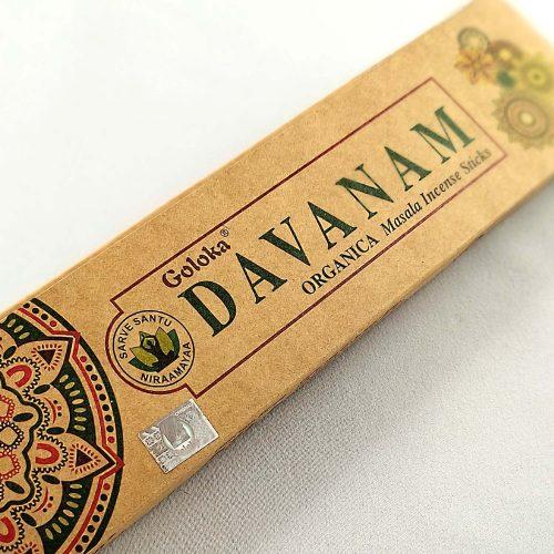 Goloka Organica Davanam Indiai Füstölő (15db)