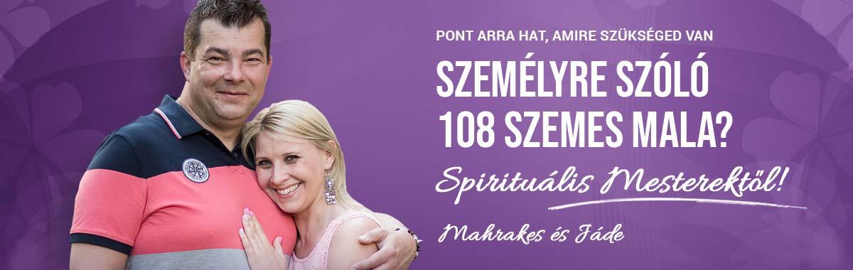 Személyre szóló spirituális 108 szemes mala