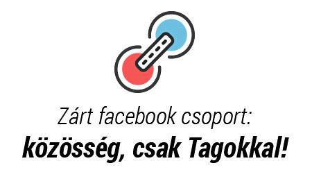Zárt facebook csoport