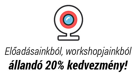 Kedvezmény az előadások, workshopok belépőkéből